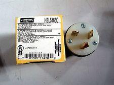 HUBBEL  MODEL HBL5466C   MALE 20A  250V 2P 3W NEW