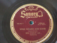 Sonora  Wine,Women and Song Bob Stanley and orchestra
