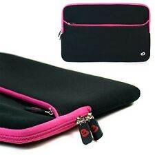 """Pink Sleeve Case Cover for 15.6"""" Lenovo IdeaPad U Y Z Series Ultrabook Laptop"""