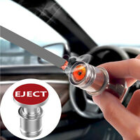 1x Sports Red Eject Push Button Car Cigarette Lighter Plug Ignition Accessories