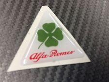 1 Adesivo Stickers ALFA ROMEO Quadrifolgio verde 10 cm Logo