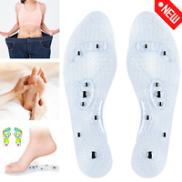 Massage Akupressur Orthopädische Magnetische Einlegesohlen Abnehmen Fußmassage