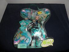WINX CLUB -RARE FIRST EDITION 2004 WITH DVD,  MATTEL_Icy_NRFB