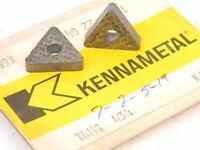 NEW SURPLUS 4PCS. KENNAMETAL TNMG 434 GRADE: K68 CARBIDE INSERTS