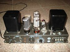Grommes Model 221 tube amps; matched pair, gone through, plug & play, v.g. cond.