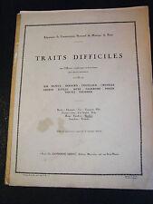 Partition Traits difficiles Hautbois Alphonse Leduc Music Sheet 2