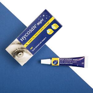 Hycosan Night Eye Ointment (Vita-POS A) DRY EYE