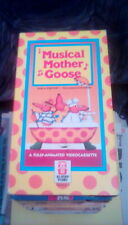 Musical Mother Goose RARE Hi-Tops Video Treasures 1990 VHS cartoon stories songs