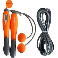 Cordless & Cord Digital Count Calorie Counter Jump Rope Skipping Rope Aerobic MP