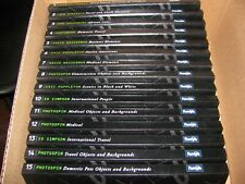 Complete set 15 Volumes Royalty Free PhotoSpin Photos 4 Cds Per Volume Mint Cond