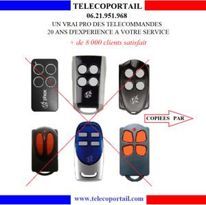 TELECOMMANDE COPIEUSE V2 PHOENIX TRC4 TSC4 TXC4 HANDY PHOX 433Mhz 868 Mhz