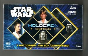 2020 TOPPS STAR WARS HOLOCRON SERIES 1 FACTORY SEALED HOBBY BOX