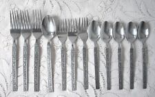 NATIONAL STAINLESS Costellano Flatware Lot