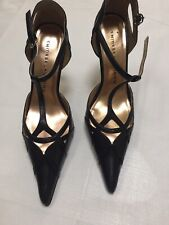$135 New /Other Chinese Laundry Womens Black Leather Pointed Toe Pumps size 6