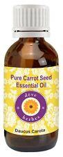 Pure Carrot Seed Essential Oil Daucus carota 100% Natural Therapeutic Grade