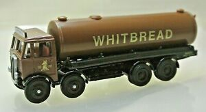 EFE 10606DL AEC Mammoth Major 4 Axle Whitbread Cylindrical Tanker Lorry 1:76
