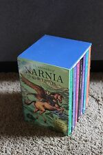 VGC The Chronicles of Narnia Boxed Book Set by C. S. Lewis 2000 VGC retail $60