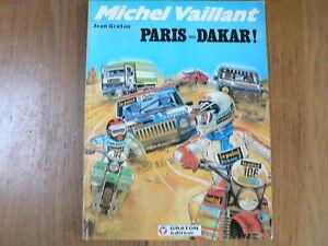 DUTCH COMIC MICHEL VAILLANT PARIS ALGER DAKAR MOTORCYCLE COVER OFF-ROAD CAR
