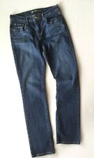 Levis 505 Straight Leg Stretch Jeans Womens Size 4 28x31 Denim Dark Blue Levi's