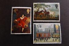 GB MNH STAMP SET 1967 British Paintings SG 748-750 UMM