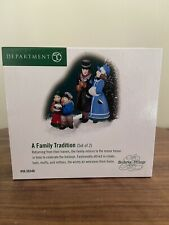 """Dept. 56 Dickens Village """"A Family Tradition"""" New!"""
