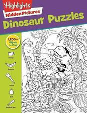 Favorite Hidden Pictures#174: Dinosaur Puzzles by Highlights for Children...