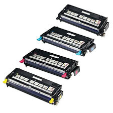 Set of 4 Toner Cartridge For DELL 3110 3110CN 3115 3115CN