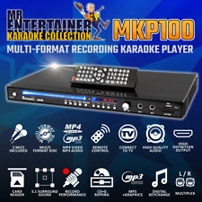 Mr Entertainer MKP100 Karaoke Machine Player CDG/DVD/MP3G/USB/HDMI GRADEA REFURB