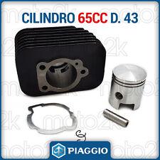 CILINDRO GRUPPO TERMICO D. 43 MODIFICA 65 PIAGGIO SI CIAO GRILLO BOXER BRAVO 50