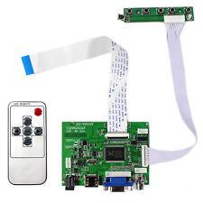 """HDMI VGA 2AV LCD Controller Board For 7"""" AT070TN83 V1 800X480 IPS LCD Screen"""