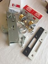 Glass Narrow Stile Door Double Cylinder Schlage Sc1 Deadlock Hook Bolt