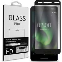 For Nokia 2.1 (2018) / 2V Screen Protector 9H Tempered Glass Full Coverage