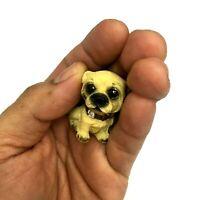 Dollhouse Miniature Toy Dog Pet Chisu Decor One Inch Scale 1:12 Home Garden