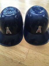 California Angels Mlb Mini- Helmet Ice Cream Cups (2)