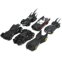 6PCS Batman Theme Batmobile Model Car Toy Vehicle Gift Black Collection Kids