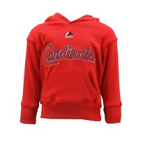 St. Louis Cardinals MLB Majestic Infant Toddler Size Hooded Sweatshirt New Tags