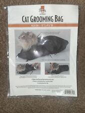 Top Performance Cat Grooming Bag Perfect Tool For Bathing And Grooming Cats
