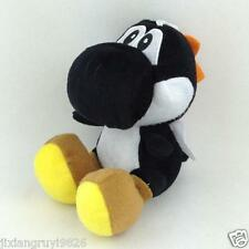 "Super Mario Bros Black Yoshi Plush Yoshi Species Soft Toy Stuffed Animal Doll 6"""