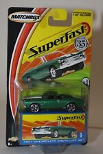 MATCHBOX 1:64 DIECAST SUPERFAST #9 - 35 YEARS 1971 CHEVROLET CHEVELLE SS MIP NOS