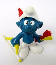 Vtg 1978 Smurfs Peyo ARCHER Smurf 20102 Schleich Hong Kong PVC Figurine Toy