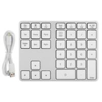 Numeric Keypad Wireless Bluetooth Number Pad Mini Keyboard for Notebook Laptops