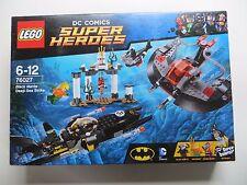 New  Sealed Super Heroes Lego 76027 Black Manta Deep Sea