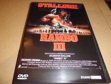 SYLVESTER STALLONE   RAMBO III   1988 /  DVD
