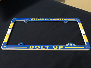 Los Angeles Chargers Plastic License Plate Frame
