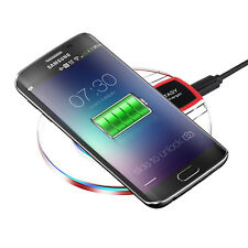 Qi Wireless Charger Fast Charging Pad for iPhoneX/8 /Plus Sansung Galaxy8 S 9S9+