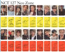 9pcs/set Kpop NCT 127 Neo Zone Album Photocard Autograph Cards Photograph