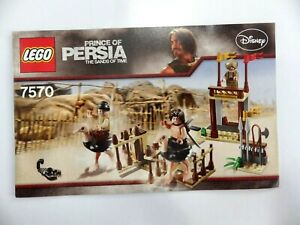 Instructions LEGO Prince Of Persia Disney Manuals Instruction Mounting Ref 7570