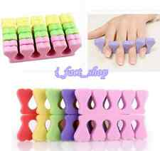 20pcs Beauty Nail Art Salon Soft Finger Toe Separator Pedicure Manicure Tool IFA