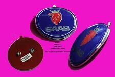 SAAB 9.3 1998-2002 67mm P/N5289897 Convertible Complete Badge Emblem