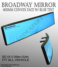 Broadway 400mm Wide Convex Interior Blue Tint Rear View Universal Mirror A327